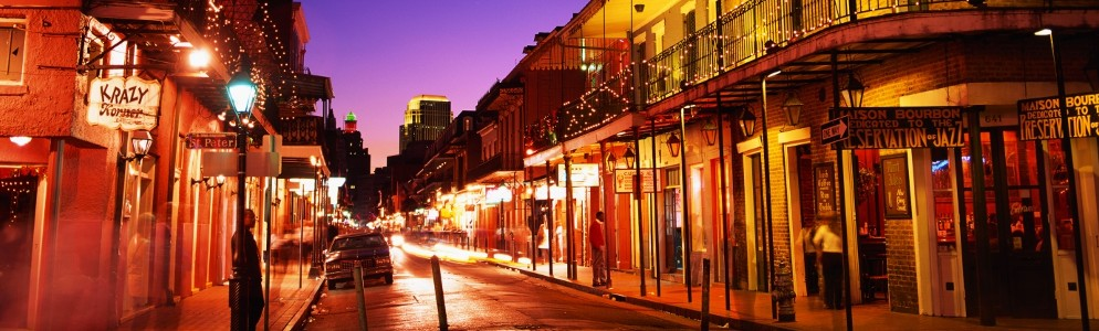 Bourbon St, New Orleans