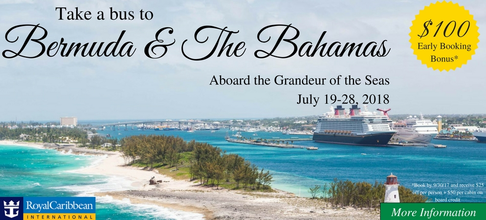 Bus to Bermuda & The Bahamas