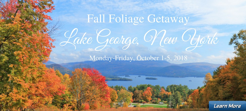 Fall Foliage Getaway, Lake George