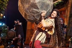 """Samson"" at Sight & Sound Theatre in Lancaster"
