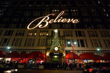 Macy's at Christmas, New York City