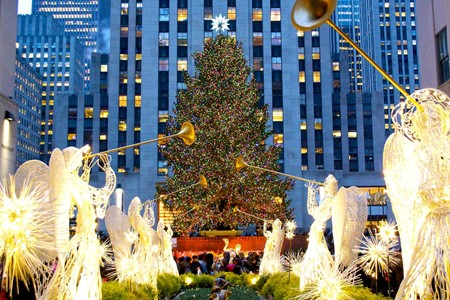 Rockefeller Christmas Tree, New York City