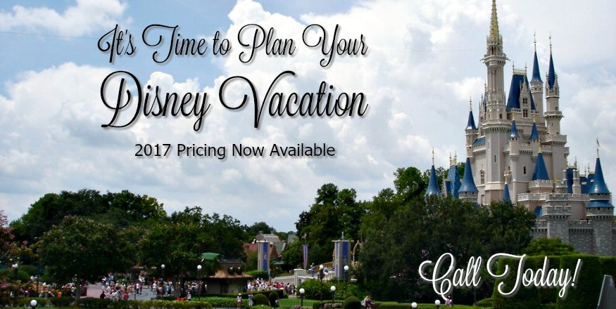 Time to Plan Your Disney Vacation